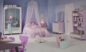 Παιδικό δωμάτιο για κορίτσια 2