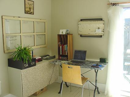 Γραφείο σε υπνοδωμάτιο