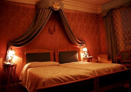 Ρομαντική κρεβατοκάμαρα φωτισμός