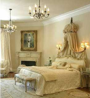 Διακόσμηση Ρομαντικής Κρεβατοκάμαρας