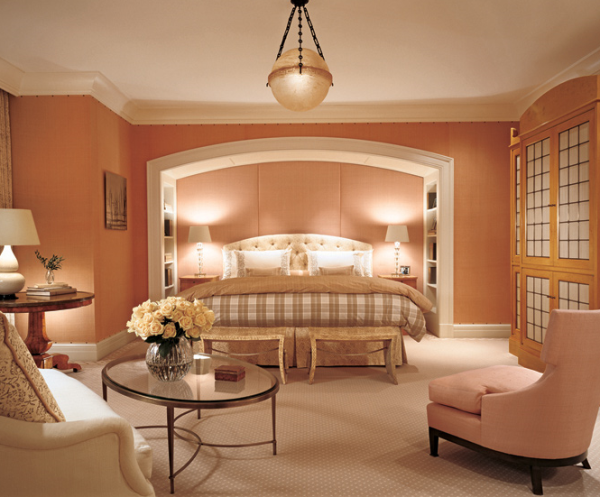 Feng shui - Fantastic color schemes for serene bedrooms ...