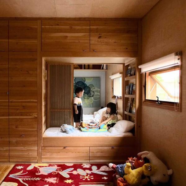 Παιδικό δωμάτιο από ξύλο