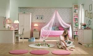 Παιδικό δωμάτιο για κορίτσια 1